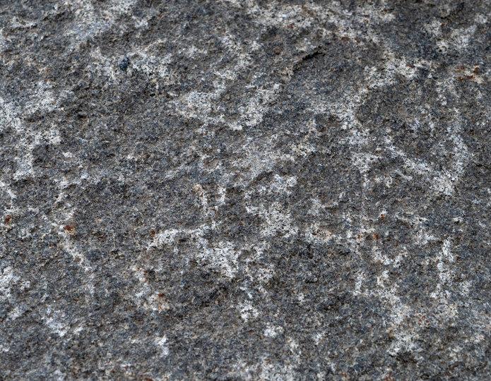 Smoke Gray landscape boulders closeup texture