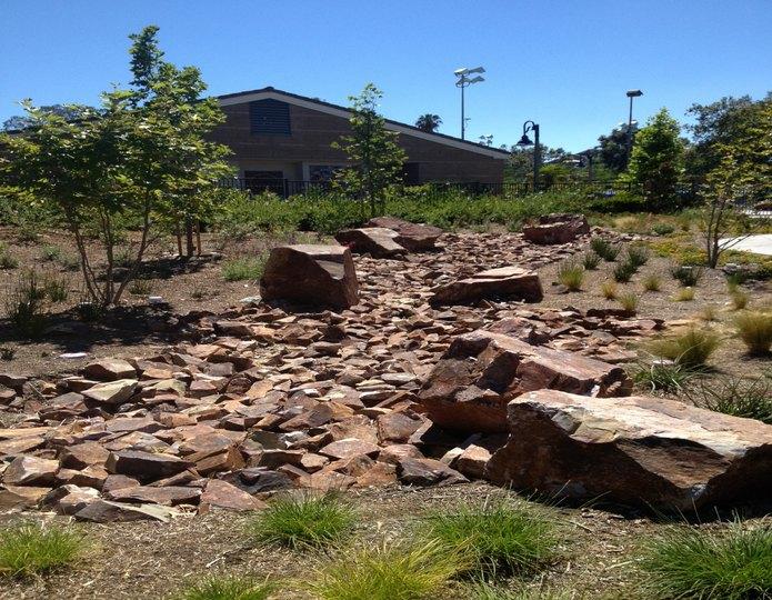 Baja Cresta Boulder in front yard