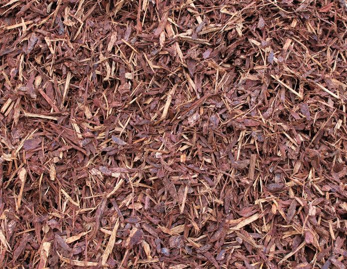 Supreme Walk-On Bark landscape mulch groundcover in bulk at rock yard