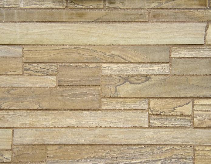 Timber Creek Stone Veneer Natural Ledgestone on rock wall project