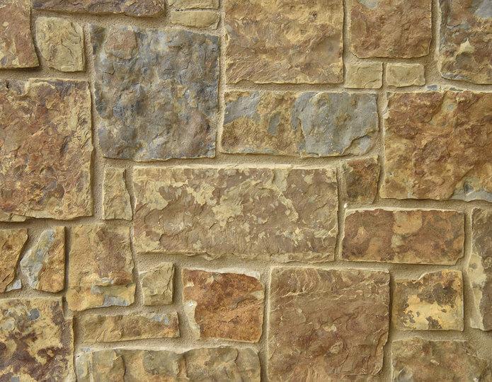 Durango Stone Veneer Natural Ledgestone on rock wall project