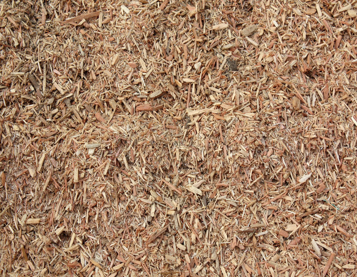 Playground Chips landscape mulch groundcover in bulk at rock yard