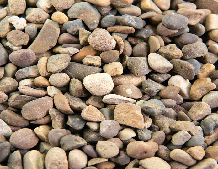 Ironwood landscape cobblestone pebble in bulk at rock yard