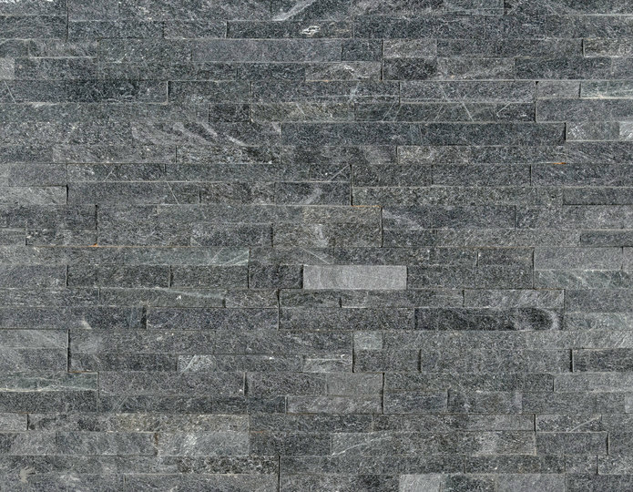 Coal Canyon Stone Veneer Natural Ledgestone on rock wall project 3