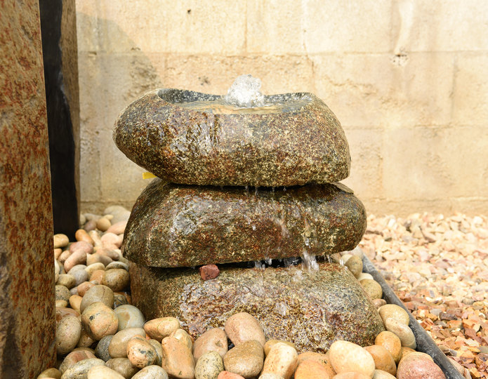 Basalt Polished Bowl Fountain
