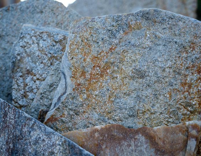 Gold Quartzite natural flagstone patio pavers closeup texture