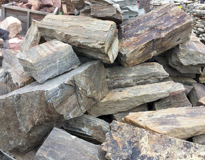 Barkwood Ledgestone close up