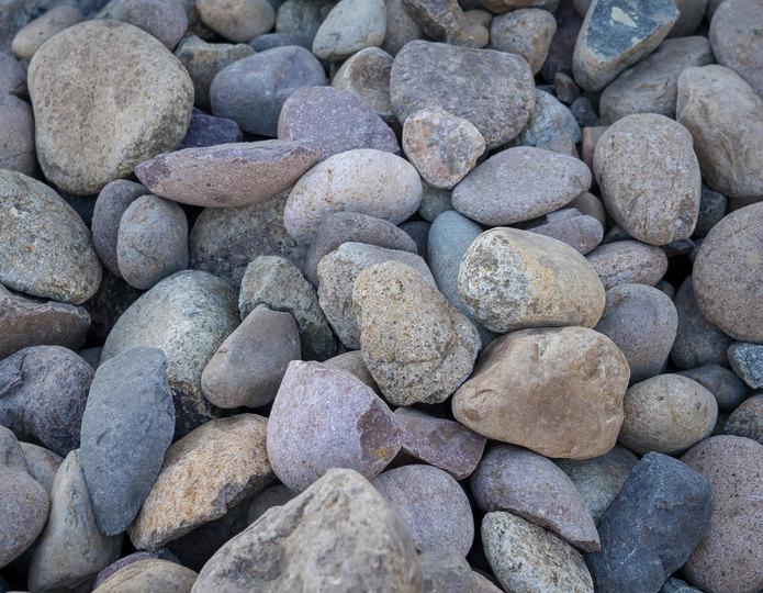 Mission landscape cobblestone pebble in bulk at rock yard 3