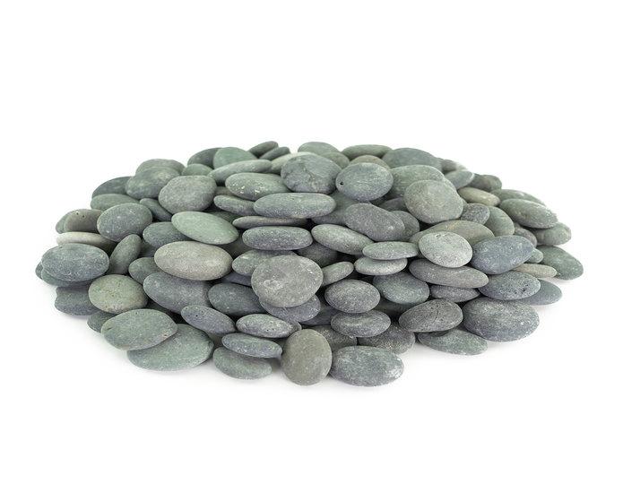 Mexican Beach Pebble - Black Buttons