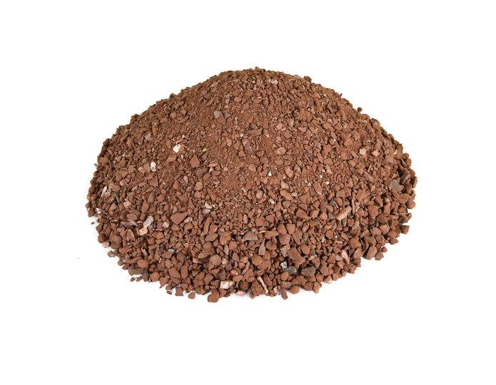 Southwest Brown decomposed granite fines in bulk at rock yard 2