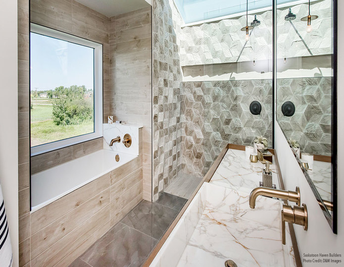 Realstone Systems Hive Tiles
