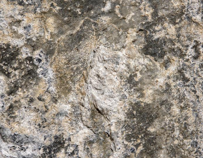 Smokey White landscape boulder closeup texture