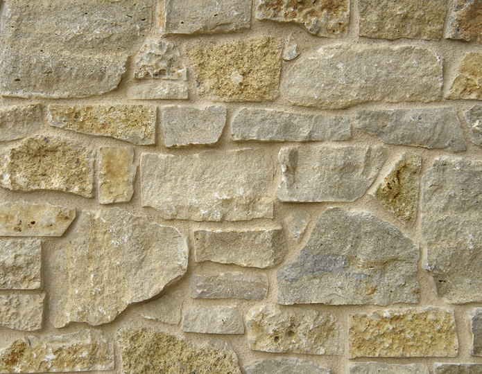 Country Cottage Stone Veneer Natural Ledgestone on rock wall project