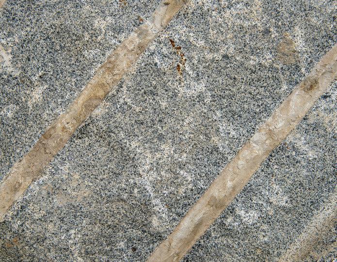 Blasted Granite landscape boulders closeup texture