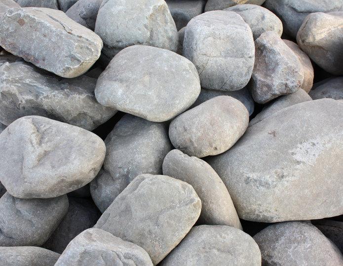 Malibu landscape cobblestone pebble in bulk at rock yard