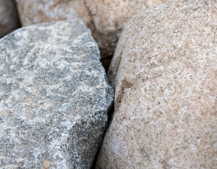 Navajo landscape boulder closeup texture
