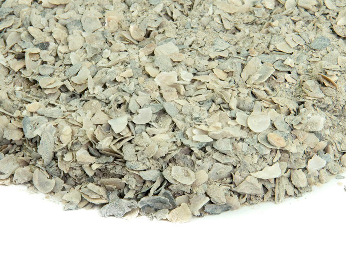 White Bocce Blend landscape groundcover closeup texture