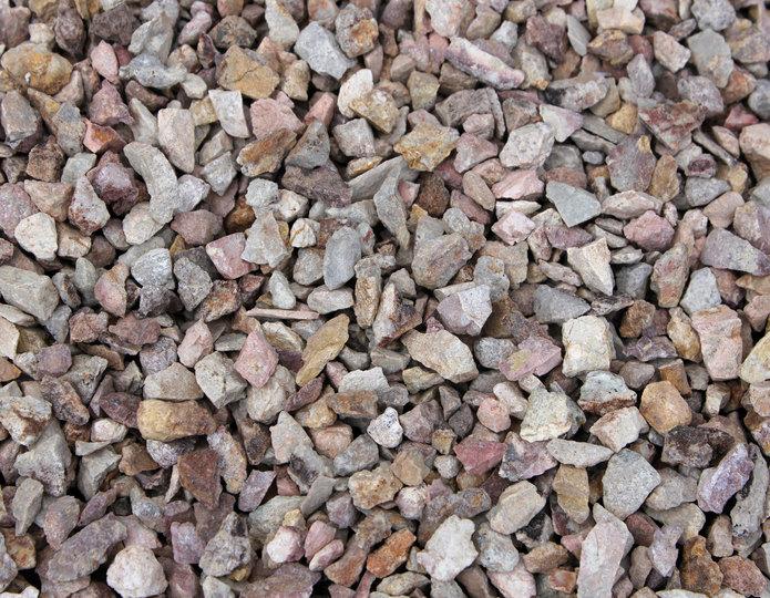 Gamblers Gold crushed rock in bulk at rock yard