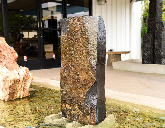 Basalt Polished Top Fountain