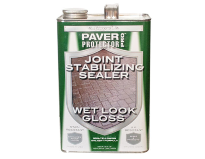 Wet look joint stabilizer with gloss finish