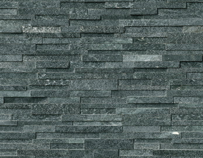 Coal Canyon Stone Veneer Natural Ledgestone on rock wall project 4