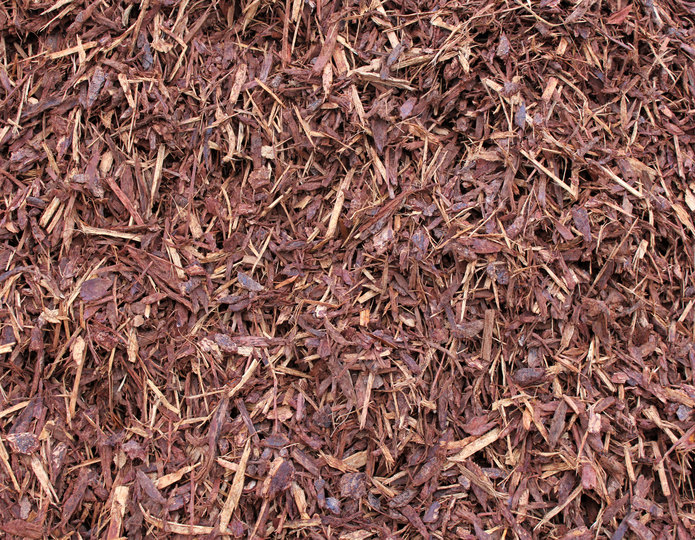Supreme Walk-On Bark landscape mulch groundcover in bulk at rock yard