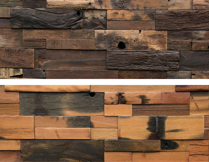 Realstone Systems Reclaimed Wood Panels