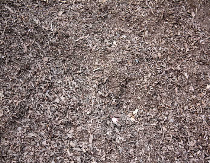 Compost 50-50 landscape mulch groundcover in bulk at rock yard