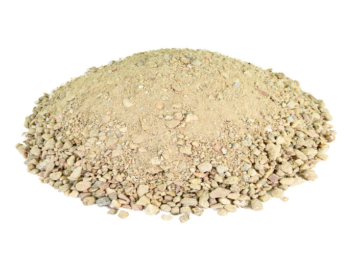 Palm springs gold decomposed granite fines in bulk at rock yard 2