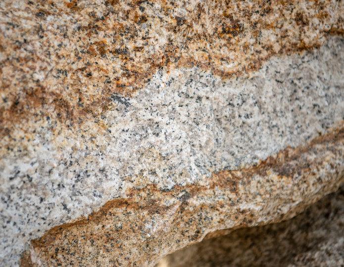 Desert Gold landscape boulder closeup
