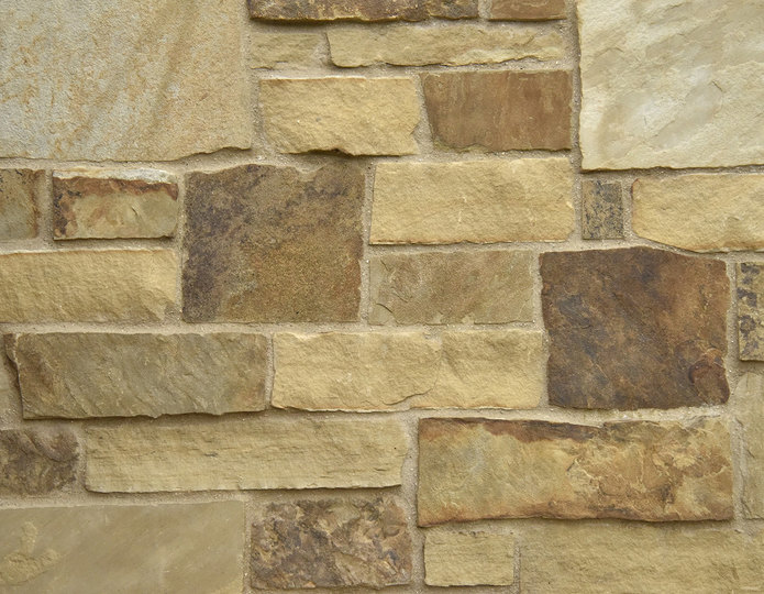 Napa Valley Stone Veneer Natural Ledgestone on rock wall project
