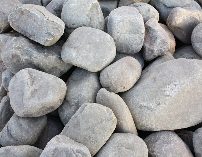 Malibu landscape cobblestone pebble in bulk at rock yard