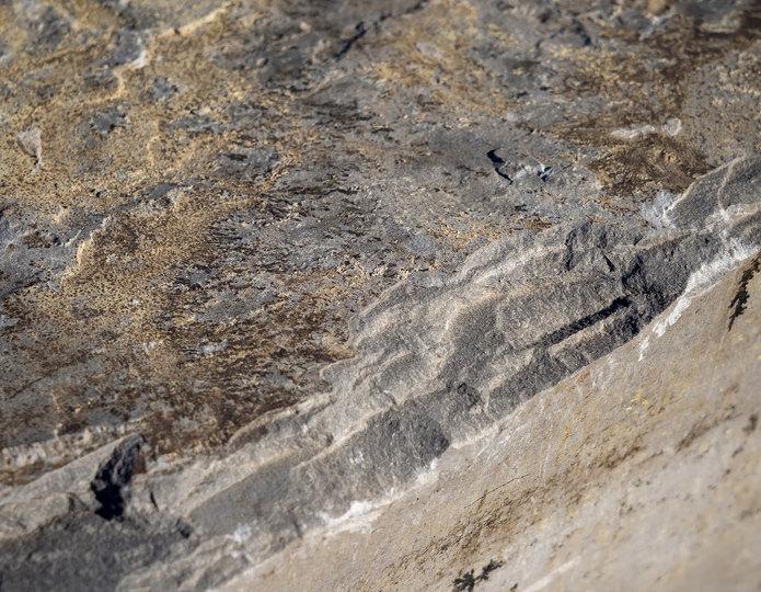 Sacramento Blue landscape boulders close up