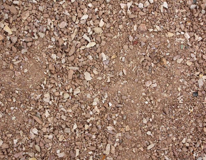 Beige Blush decomposed granite fines in bulk at rock yard