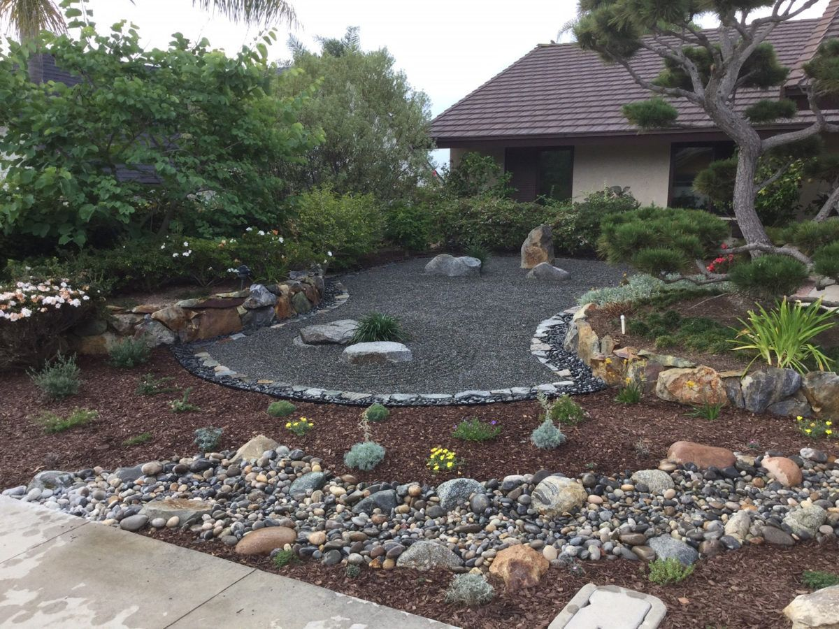How to Make a Japanese Zen Garden in Southern California ... on Zen Front Yard Ideas id=64583